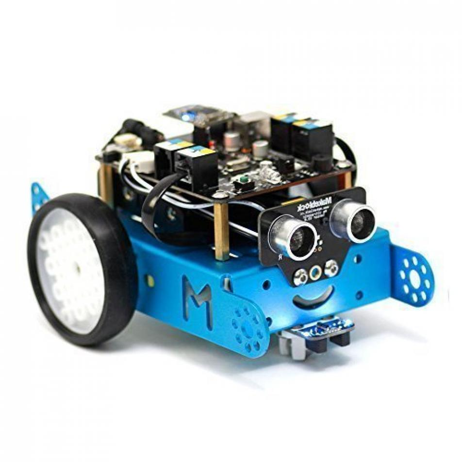 Робототехнический конструктор mBot V1.1-Blue(2.4G Version)