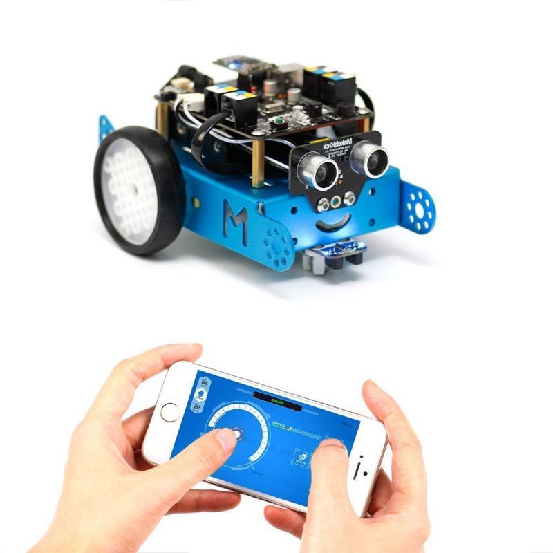 Робототехнический конструктор mBot V1.1-Blue(2.4G Version) фото