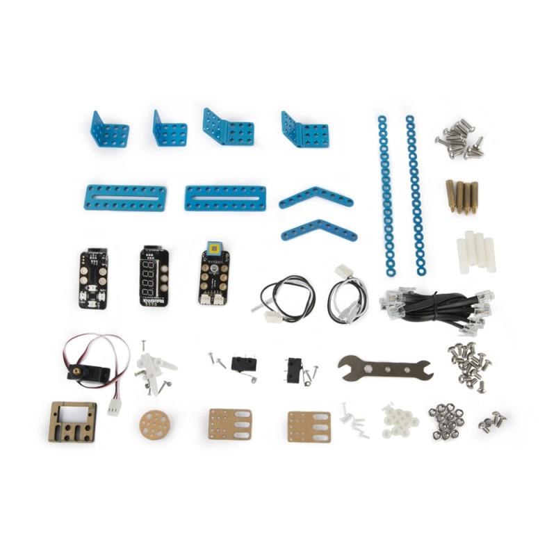 Расширенный базовый набор mBot Classroom Kit (mBotV1.1+GizmosAdd-onPacks) фото
