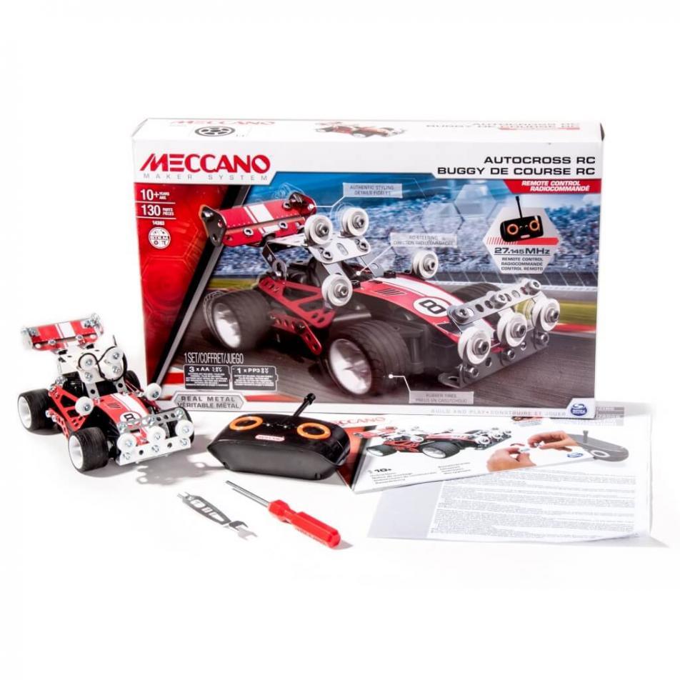 Конструктор Meccano Гоночная машина на радиоуправлении