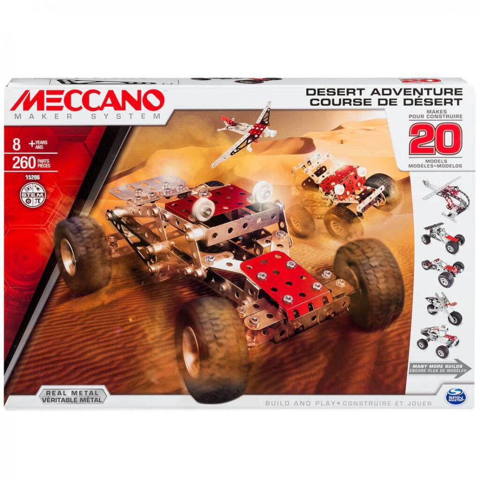 Конструктор Meccano Приключения в пустыне