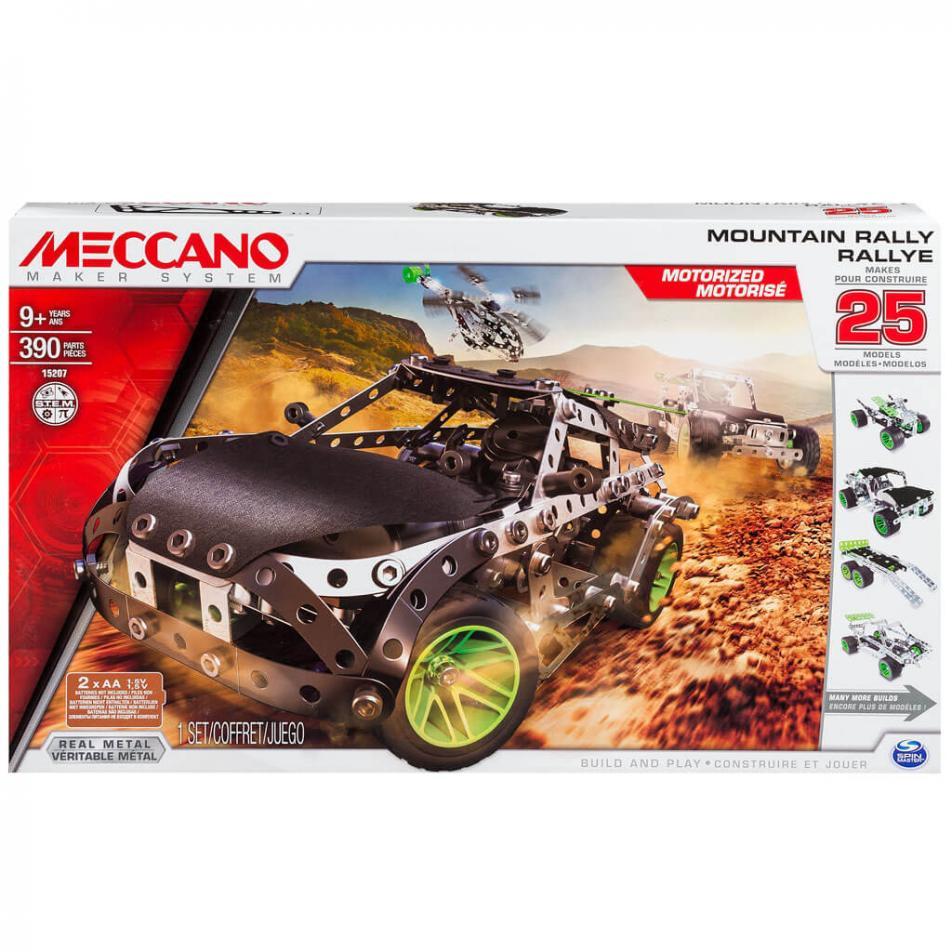 Конструктор Meccano Раллийная машина с мотором