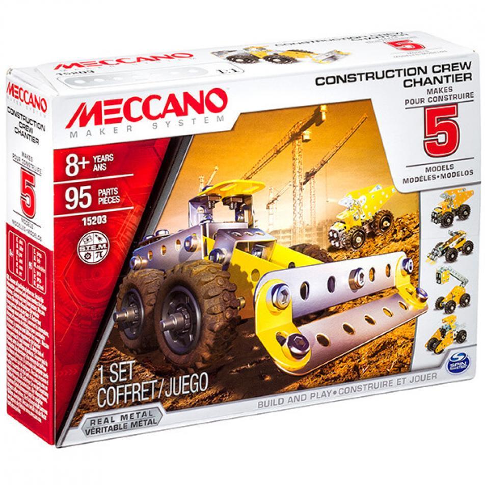 Конструктор Meccano Строительная техника