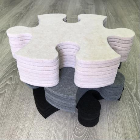 Смарт-коврик Mymatto Classic Черно-белый