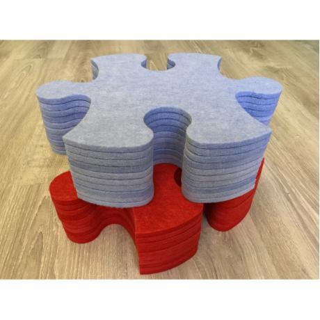 Смарт-коврик Mymatto Classic Красно-голубой