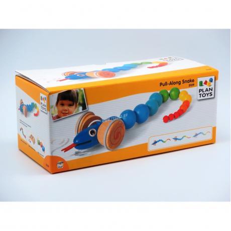 Каталка Plan Toys - Змейка