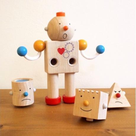 Конструктор из дерева Plan Toys - Робот
