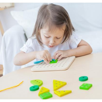 Набор со шнуровкой Plan Toys - Планшет
