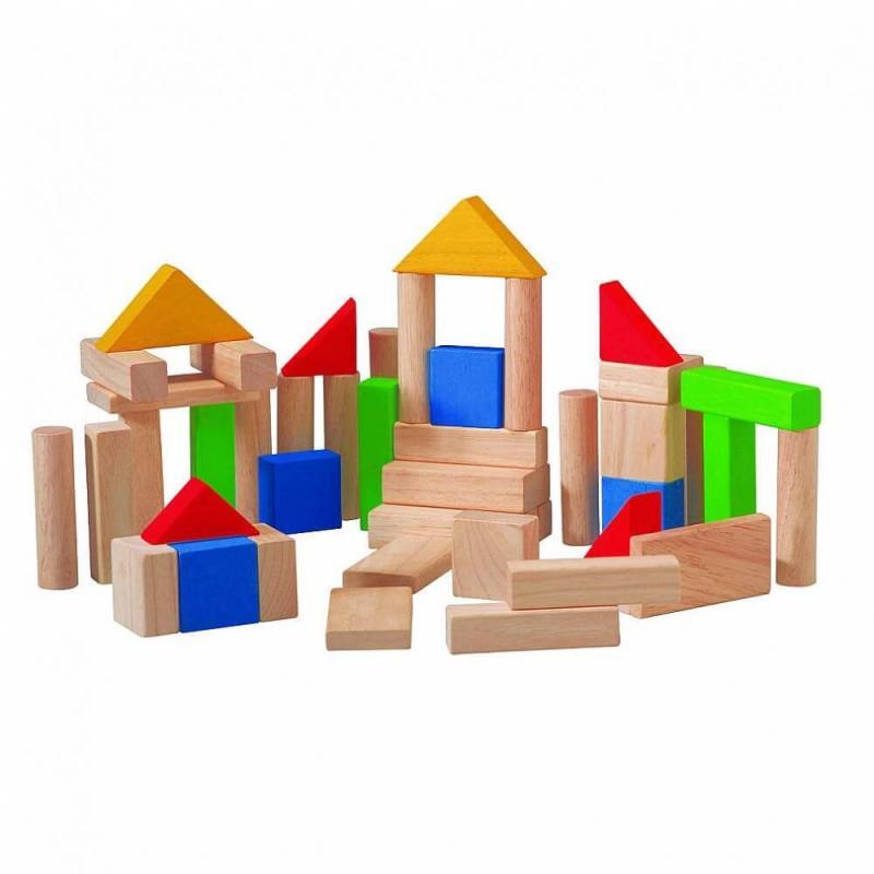 Деревянный конструктор Plan Toys Блоки фото