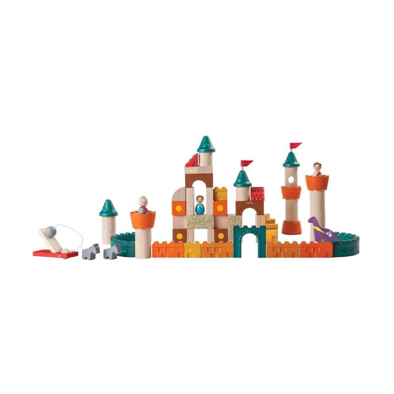 Деревянный конструктор Plan Toys Фантазия фото