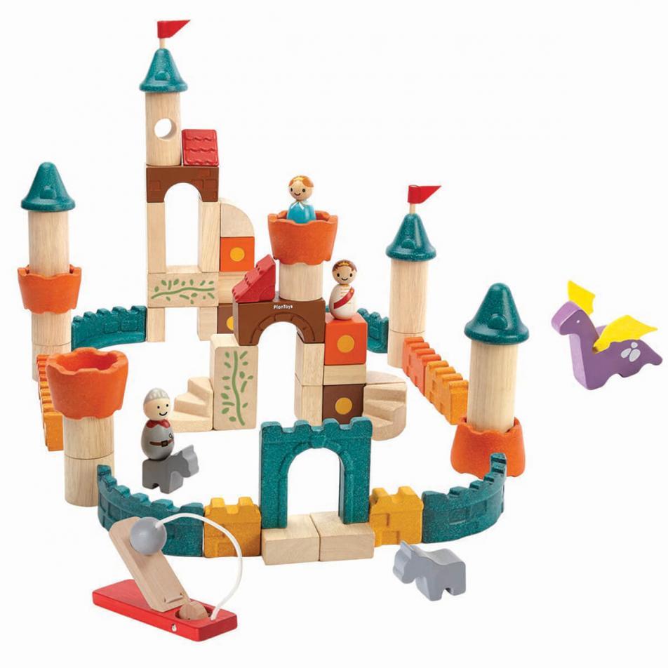 Деревянный конструктор Plan Toys Фантазия