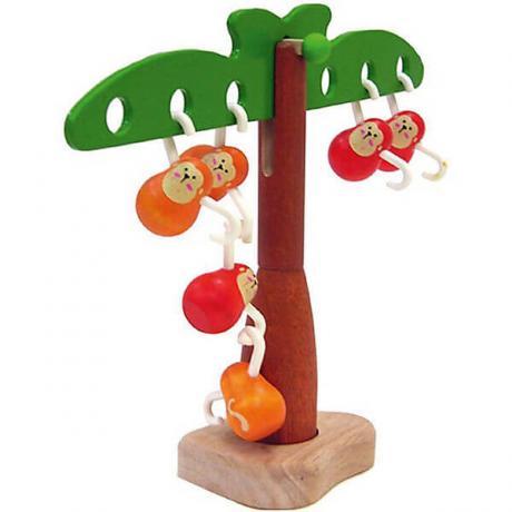 Развивающая игра Plan Toys Балансирующие обезьянки