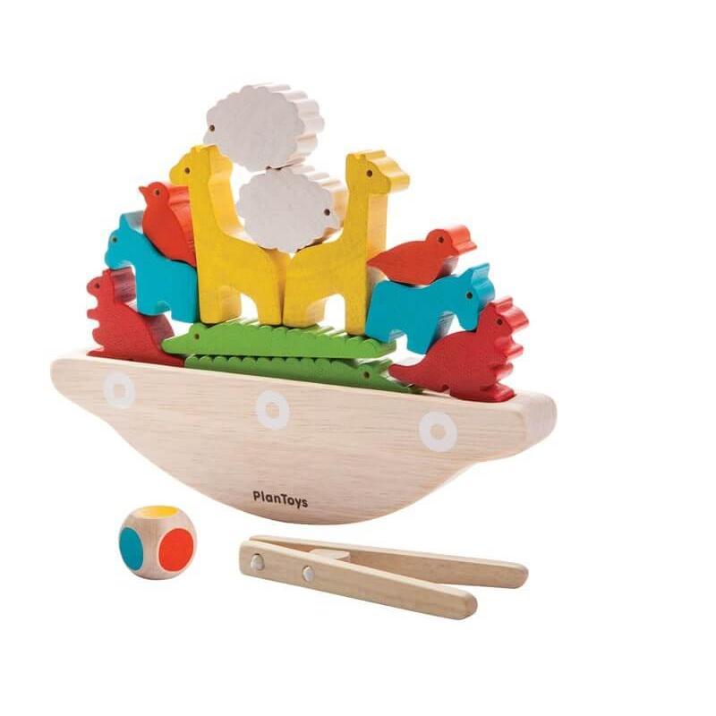Развивающая игра Plan Toys Балансирующая лодка фото