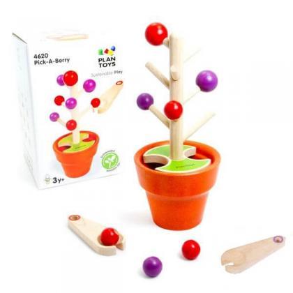 Развивающая игра Plan Toys Собери ягоды
