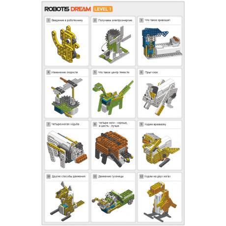 Образовательный робототехнический набор ROBOTIS DREAM Level 1 Kit