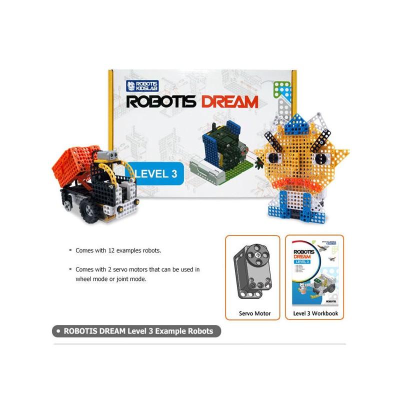 Образовательный робототехнический набор ROBOTIS DREAM Level 3 Kit фото