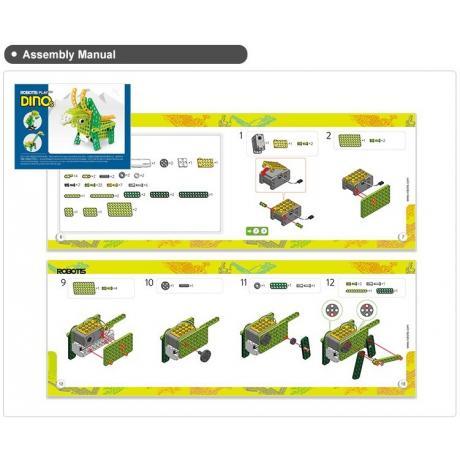 Образовательный робототехнический набор ROBOTIS PLAY 300 DINOs