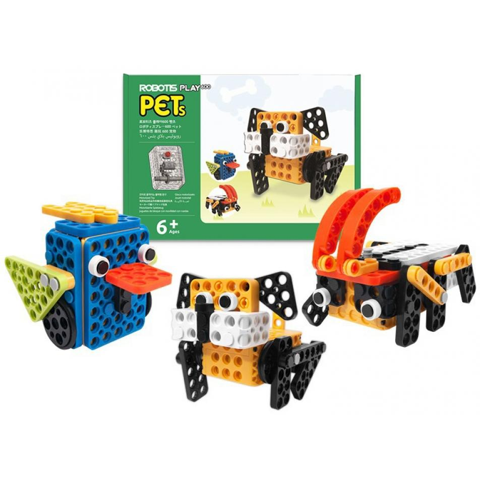 Образовательный робототехнический набор ROBOTIS PLAY 600 PETs