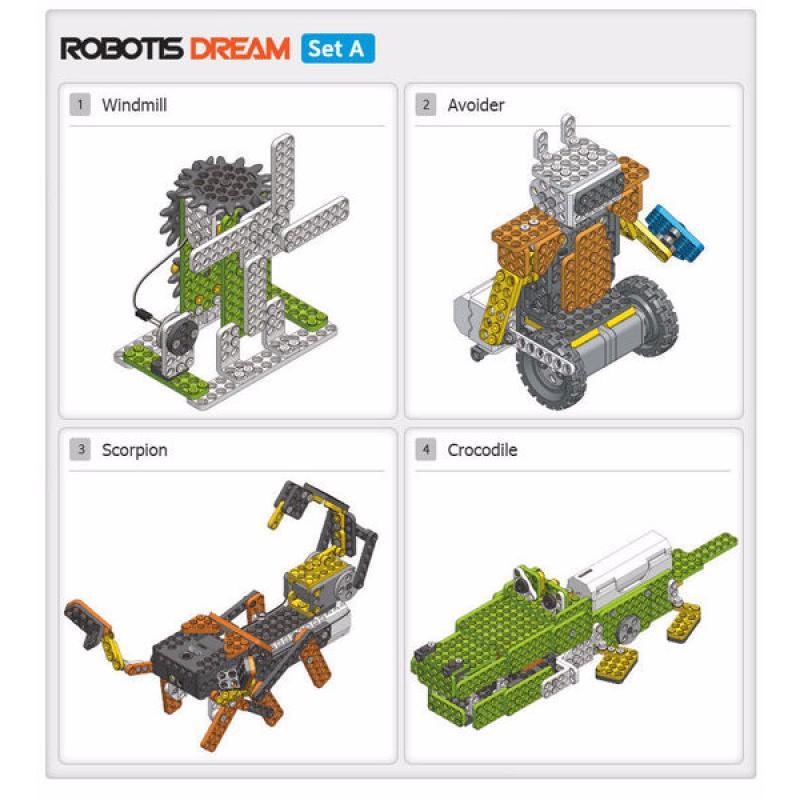 Образовательный робототехнический набор ROBOTIS DREAM Set A фото