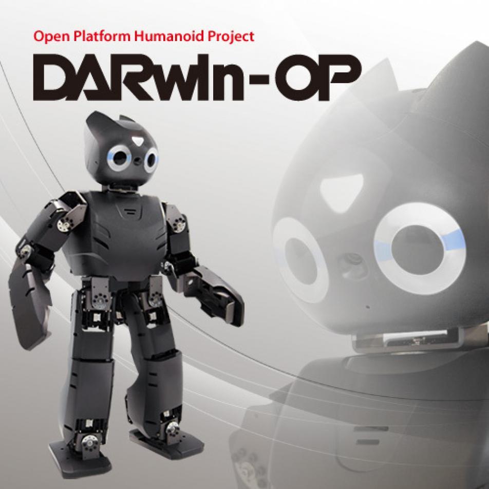 Образовательный робототехнический набор ROBOTIS OP2 (DARwIn-OP Deluxe Edition)