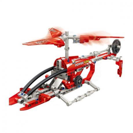 """Базовый 3D-Конструктор SDL KID-CONSTRUCT """"Вертолет, 211 деталей"""""""