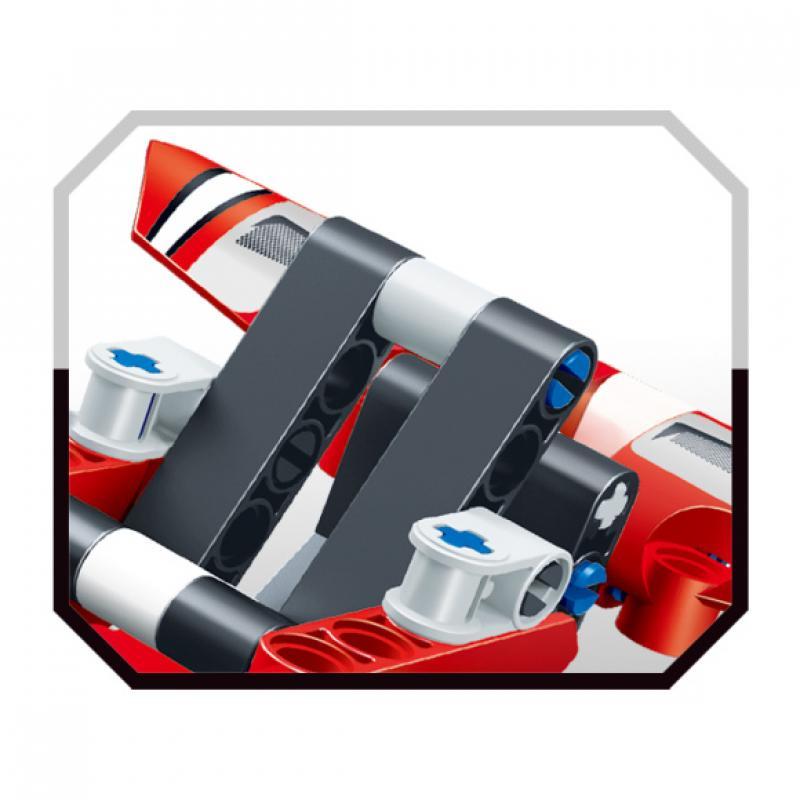 """Базовый 3D-Конструктор SDL KID-CONSTRUCT """"Гоночный болид, 150 деталей"""" фото"""