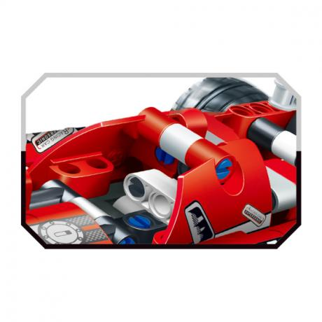 """Базовый 3D-Конструктор SDL KID-CONSTRUCT """"Гоночный болид, 150 деталей"""""""