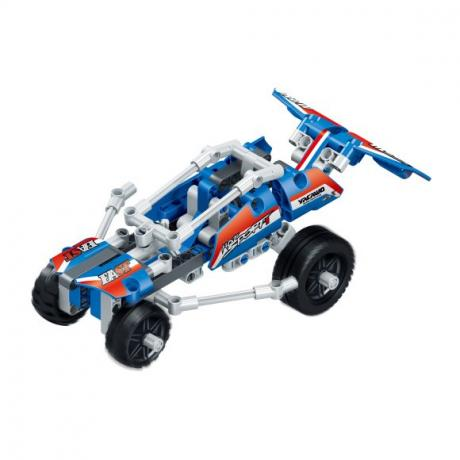 """Базовый 3D-Конструктор SDL KID-CONSTRUCT """"Кроссовер синий, 159 деталей"""""""