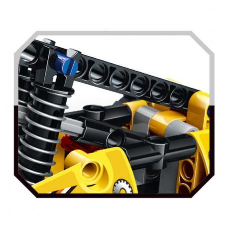 """Базовый 3D-Конструктор SDL KID-CONSTRUCT """"Погрузчик, 135 дет."""""""