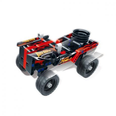 """Базовый 3D-Конструктор SDL KID-CONSTRUCT """"Кроссовер черный, 135 дет."""""""