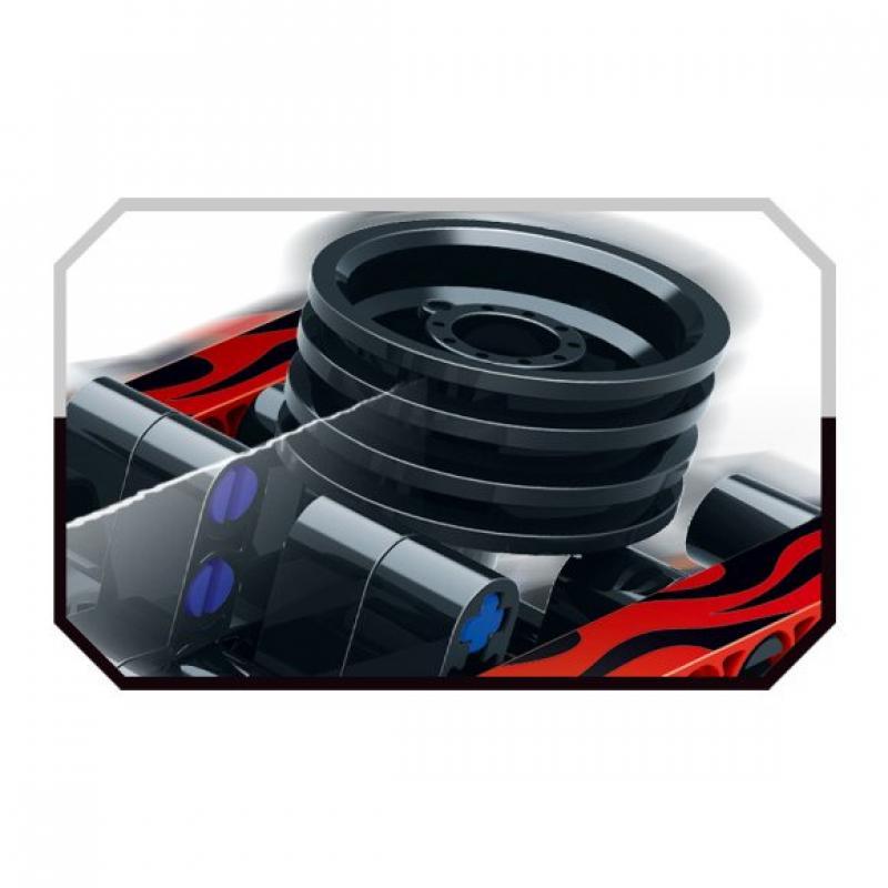 """Базовый 3D-Конструктор SDL KID-CONSTRUCT """"Кроссовер черный, 135 дет."""" фото"""