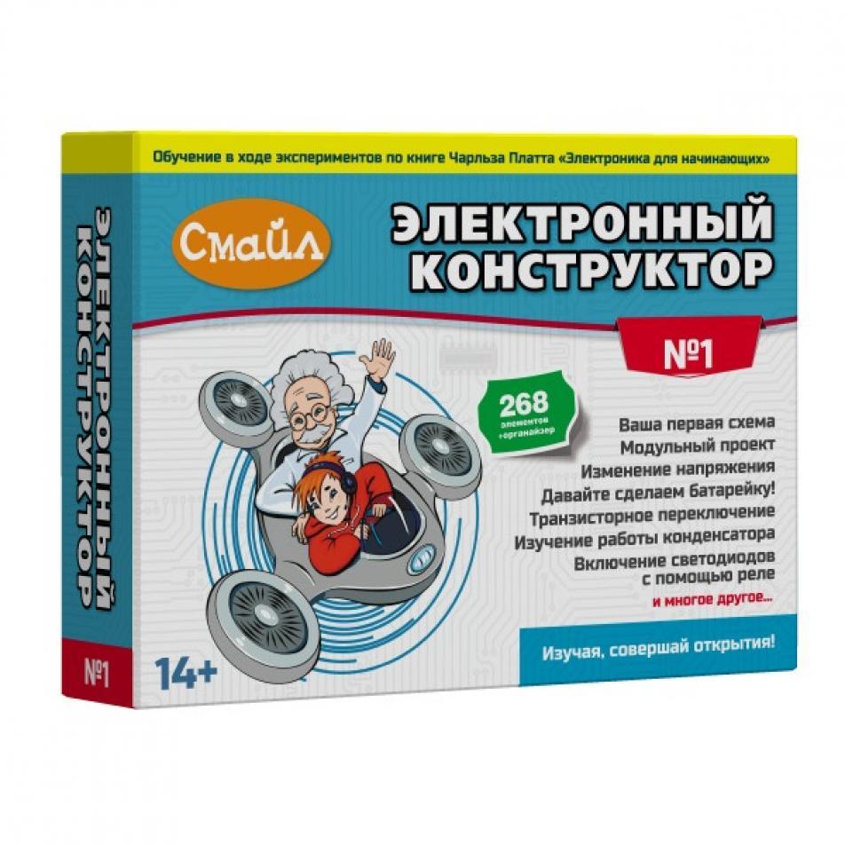 Электронный конструктор СМАЙЛ Набор №1