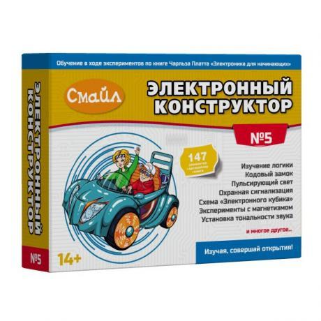 Электронный конструктор СМАЙЛ Набор №5