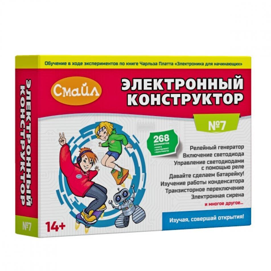 Электронный конструктор СМАЙЛ Набор №7