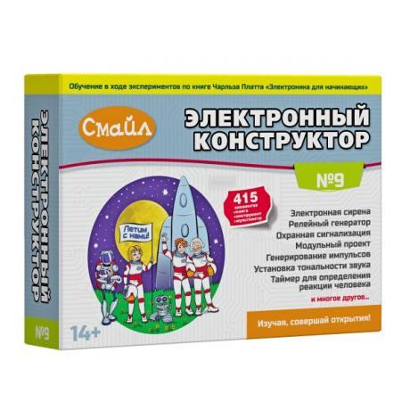 Электронный конструктор СМАЙЛ Набор №9