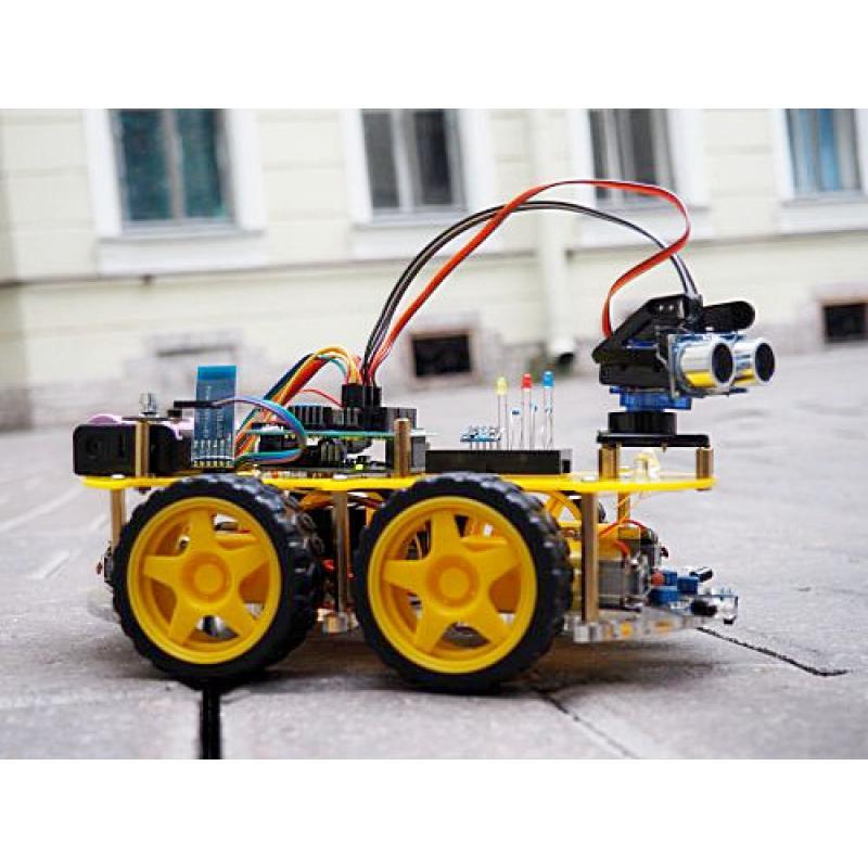 Конструктор Мобильные роботы на базе Arduino с книгой фото