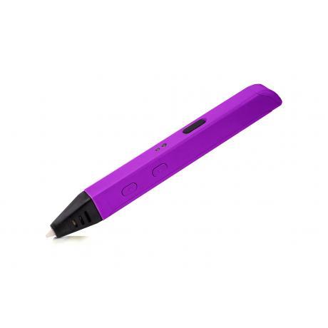 3D ручка Spider Pen SLIM - работает от USB (фиолетовая)