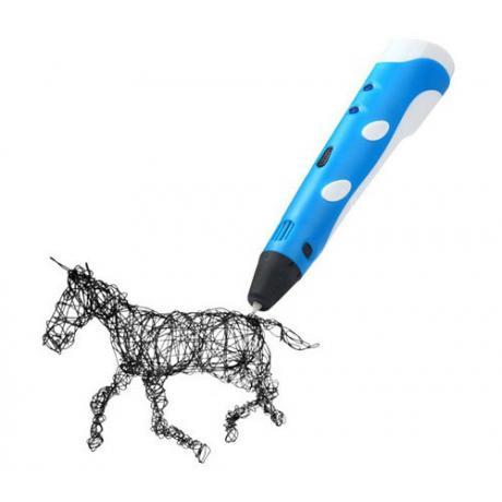 3D ручка Spider Pen START голубая