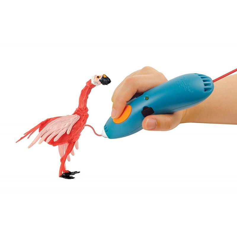3D ручка SPIDER PEN BABY розовая фото