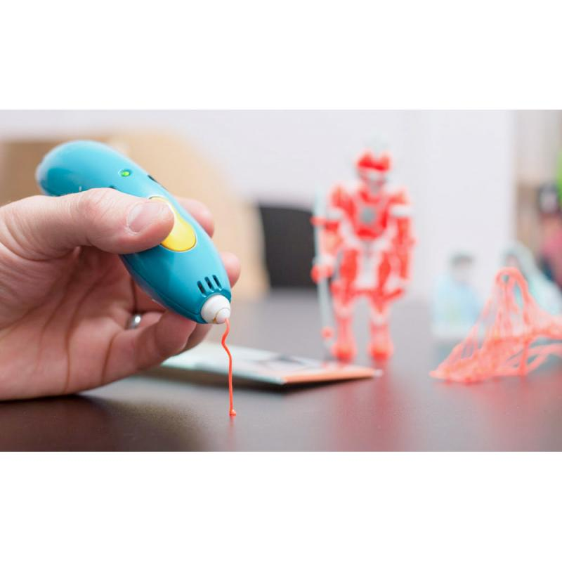 3D ручка SPIDER PEN BABY голубая фото