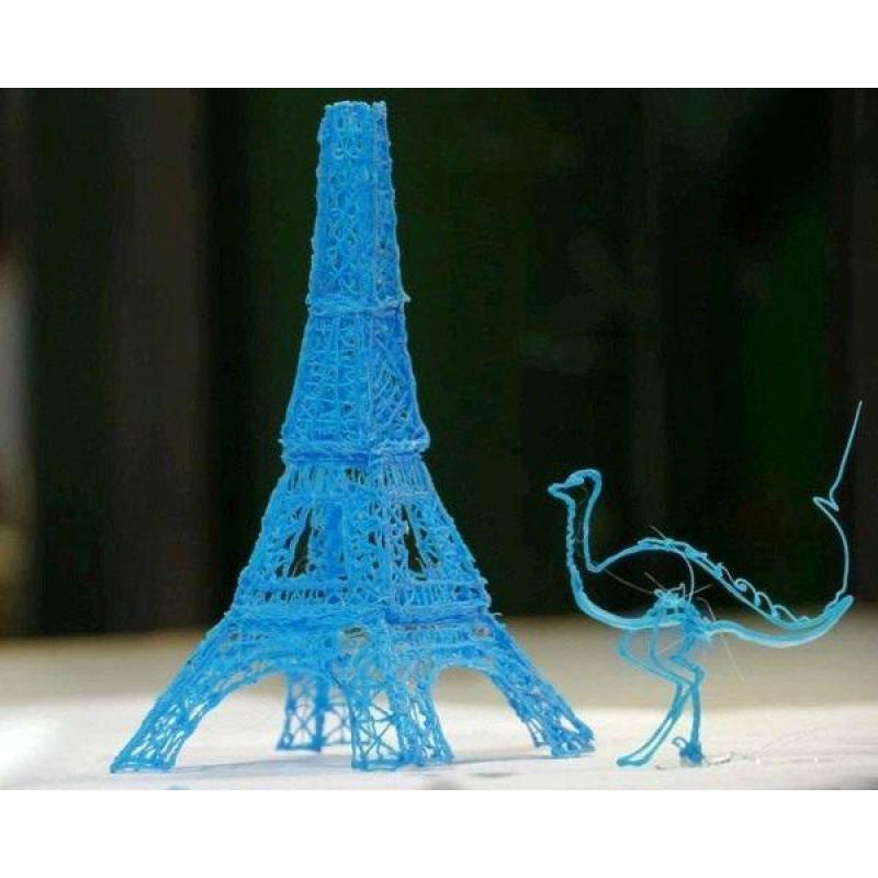 Пластик для 3D ручек ABS по 10 м. 20 цветов в коробке фото