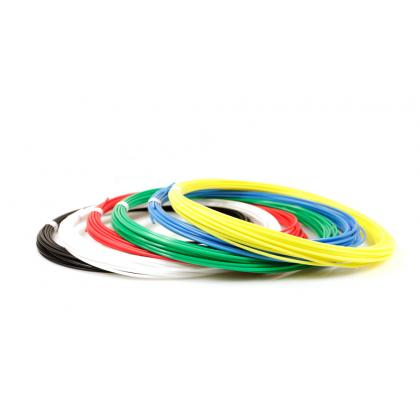 Пластик для 3D ручек UNID KID по 10 м. 6 цветов в коробке