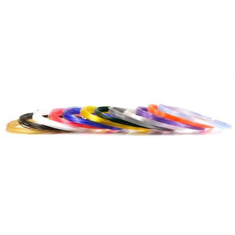 Пластик для 3D ручек UNID PRO по 10 м. 12 цветов в коробке