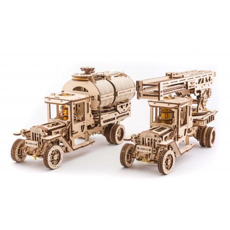 Конструктор из дерева Ugears Дополнение к грузовику (UGM-11)