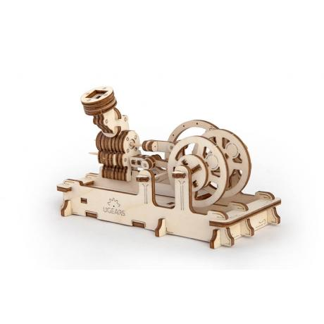 Конструктор из дерева Ugears Пневматический двигатель