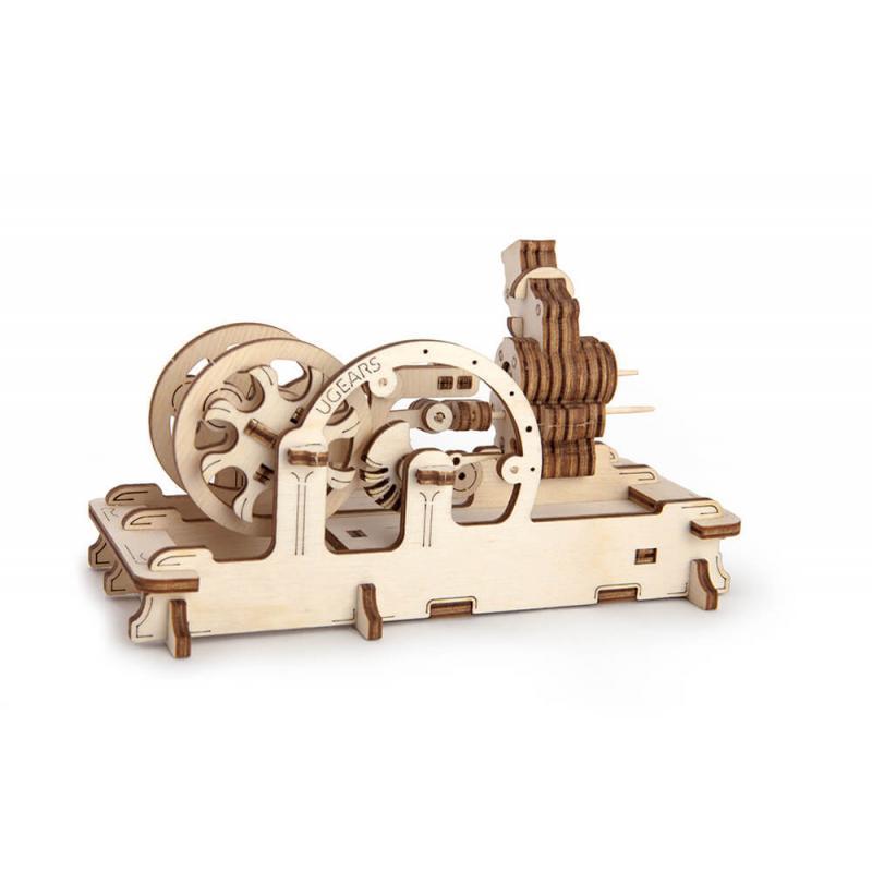Конструктор из дерева Ugears Пневматический двигатель фото