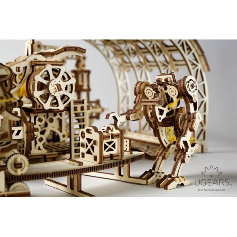 Конструктор Ugears Фабрика роботов фото