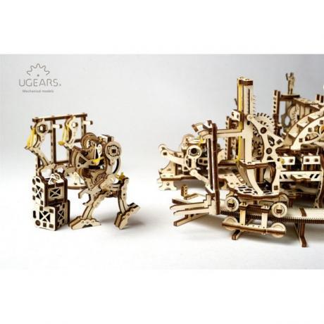Конструктор Ugears Фабрика роботов