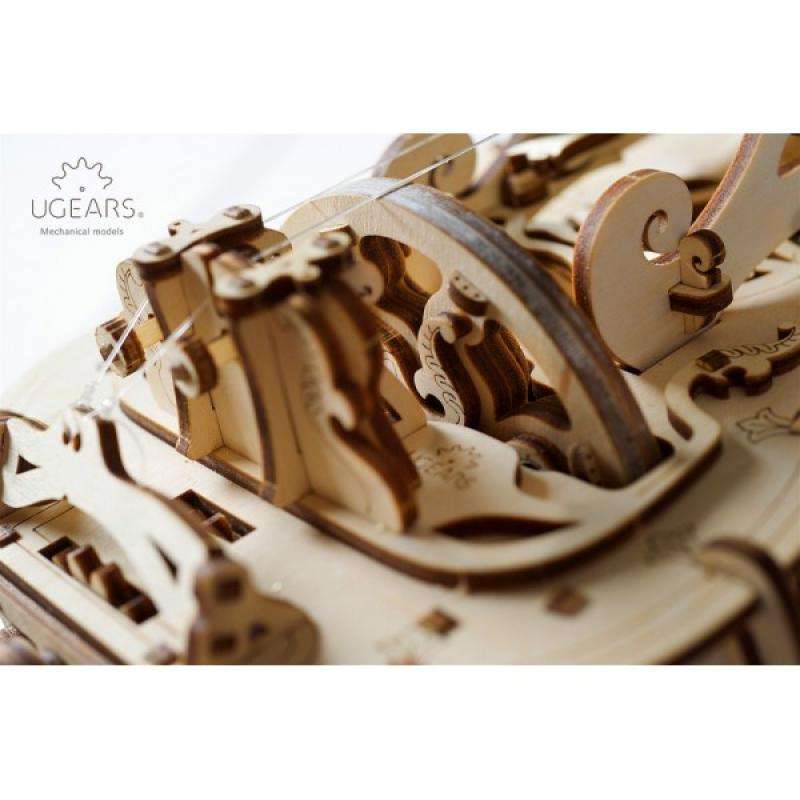 Конструктор из дерева Ugears Харди-Гарди фото