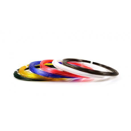 Пластик для 3D ручек UNID PRO по 10 м. 6 цветов в коробке